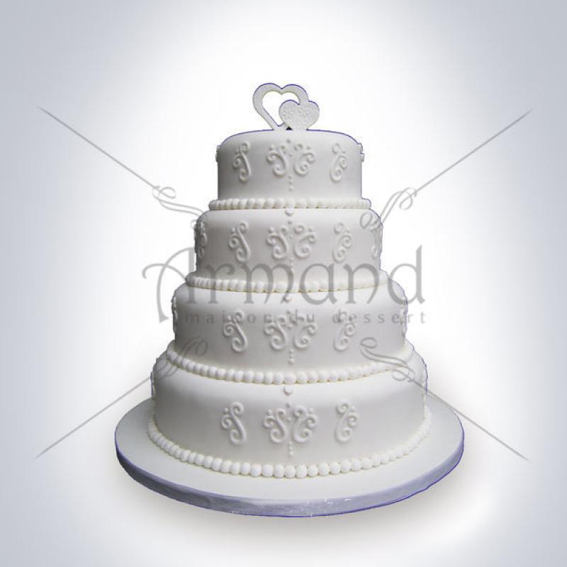 Tort elegant Imprimeuri albe
