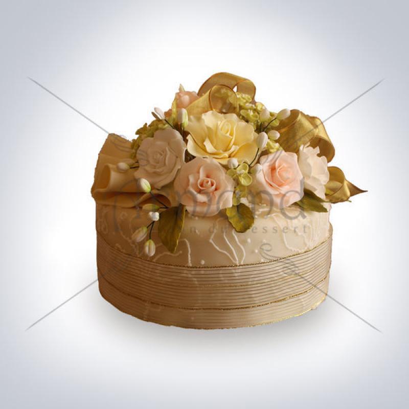 Tort Trandafiri si miniroze
