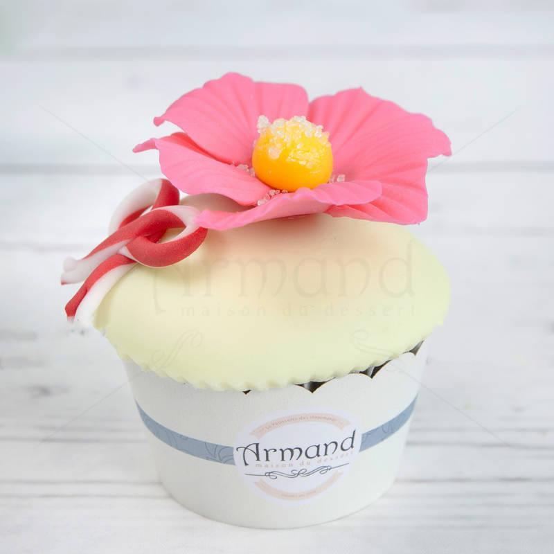 Cupcake Floricele Roz