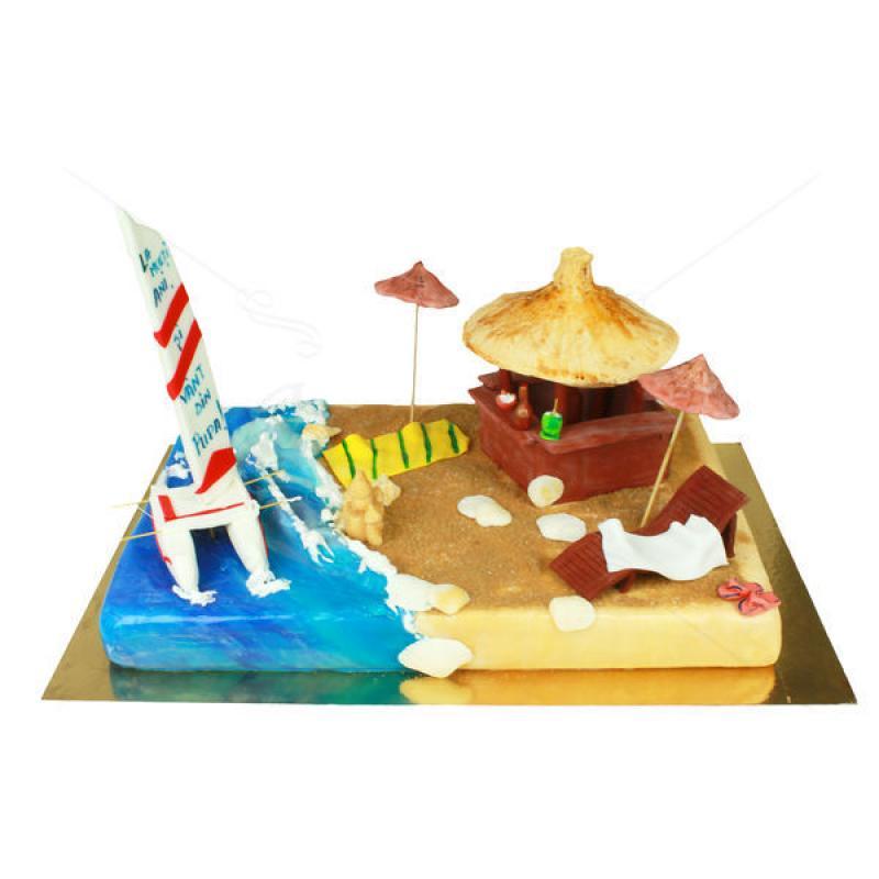 Tort Plaja insorita