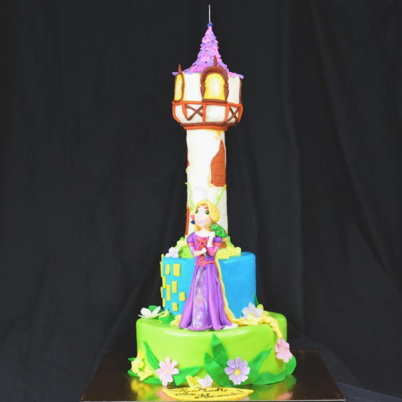 Tort Castel Rapunzel
