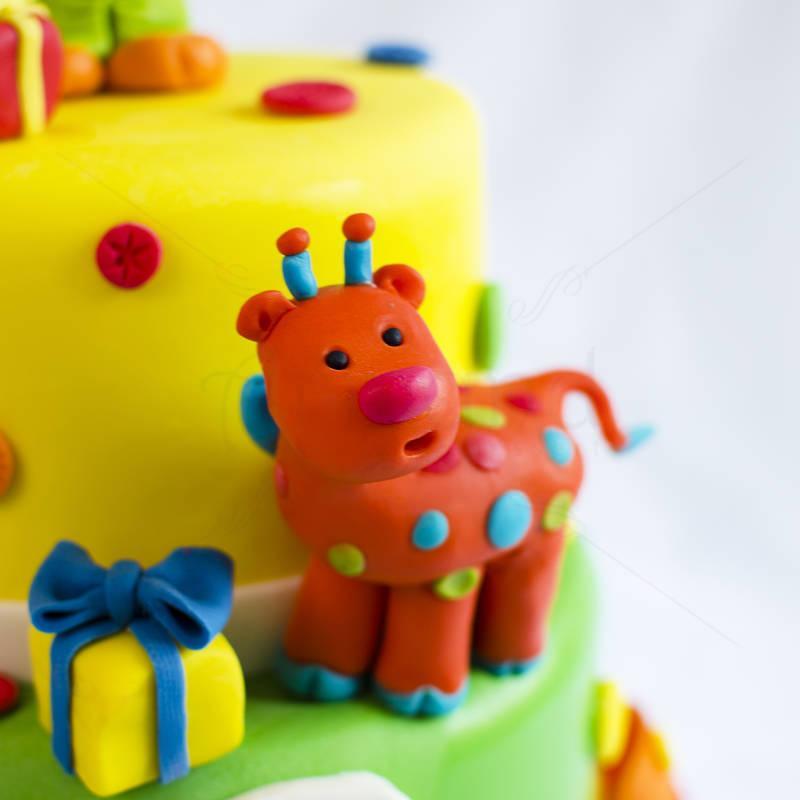 Tort Animalute de plush
