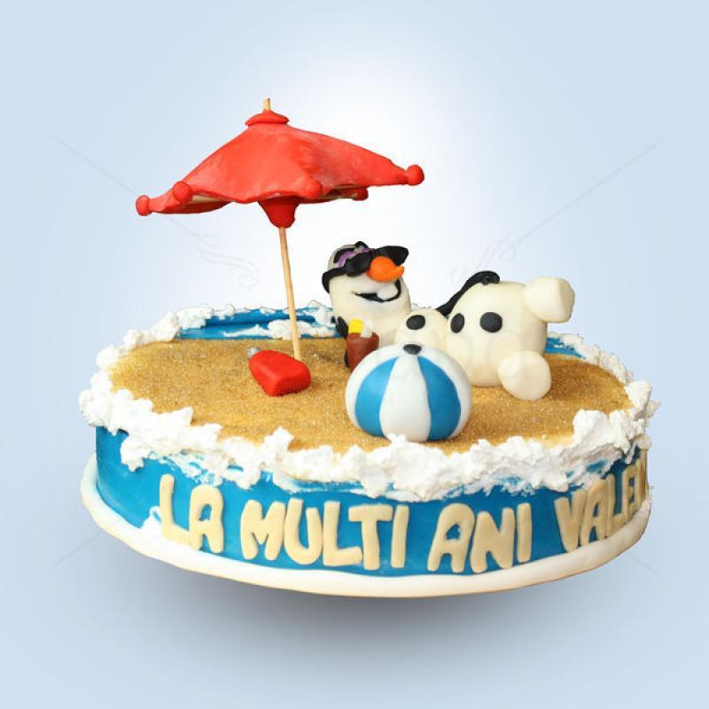 Tort Olaf la plaja