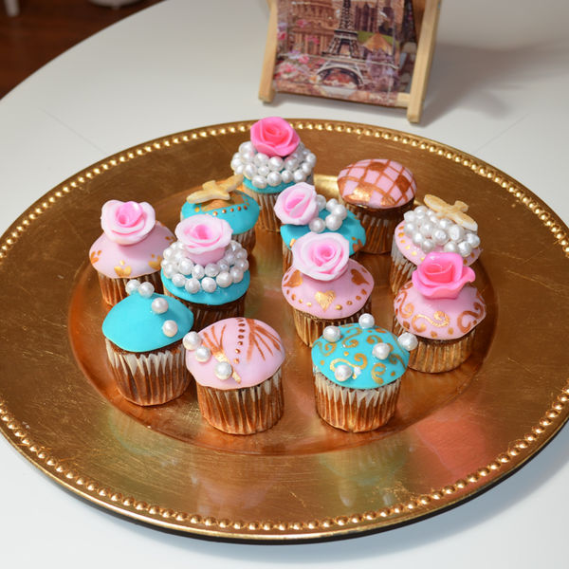 Cupcake vintage 1