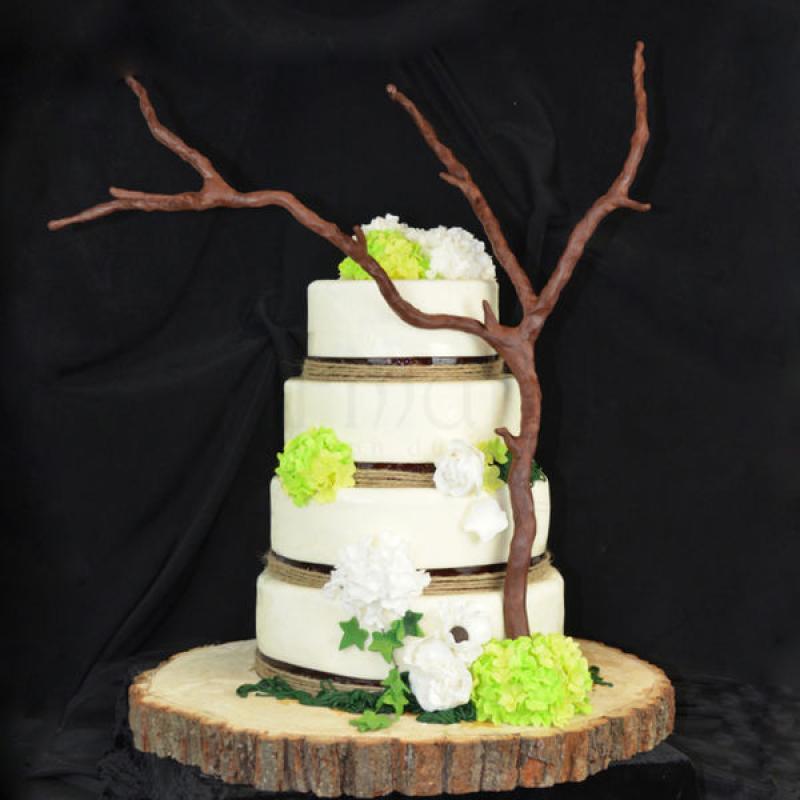 Tort de nunta Rustica