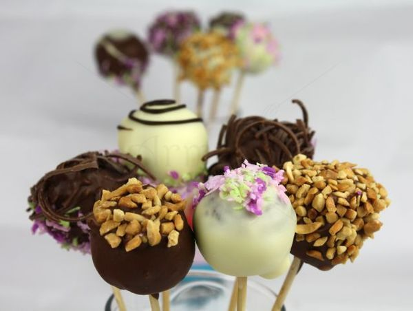 Cakepops colorate