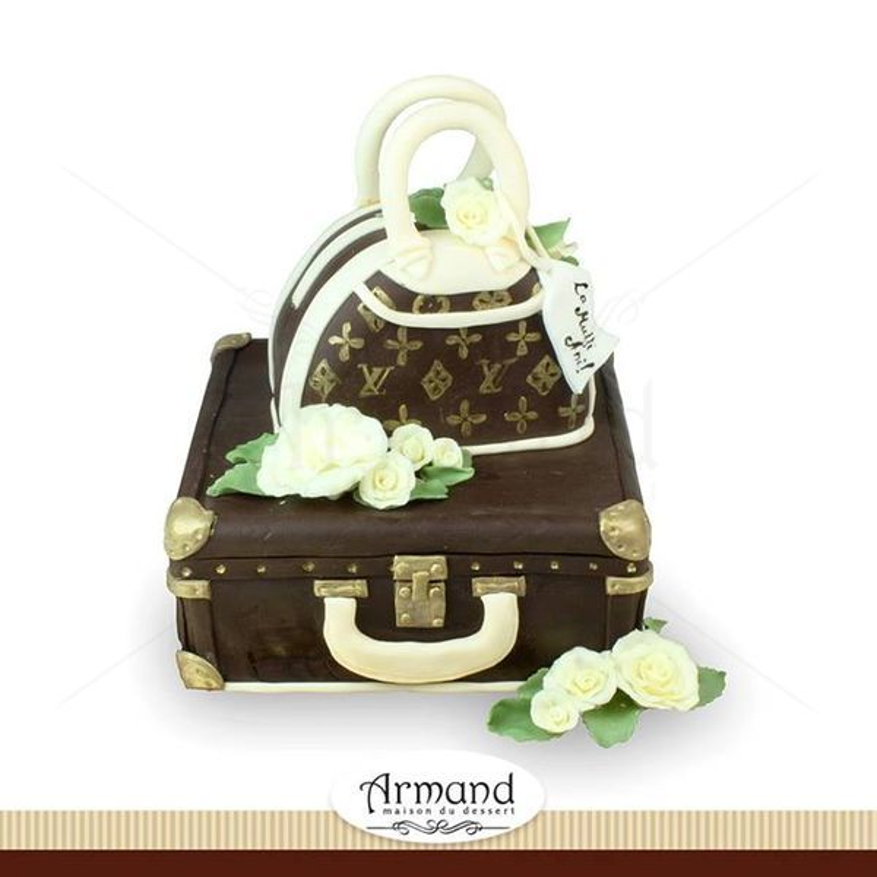 Tort Valiza si geanta Louis Vuitton
