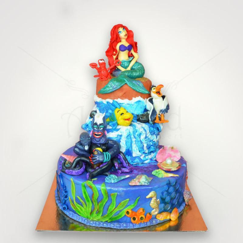 Tort Mica sirena Ariel