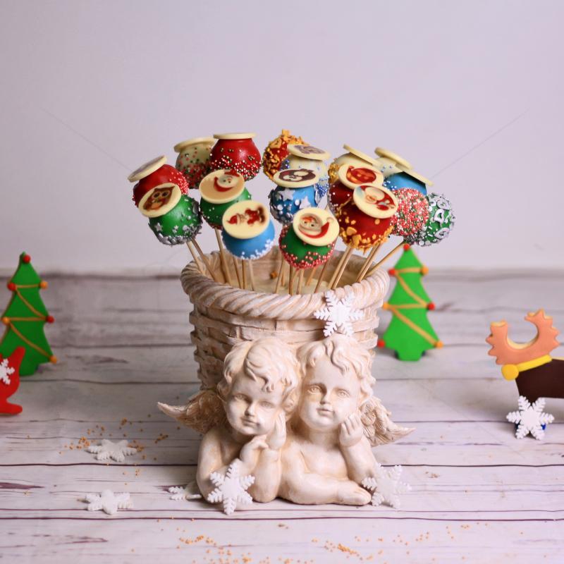 Cake Pops-uri Craciun