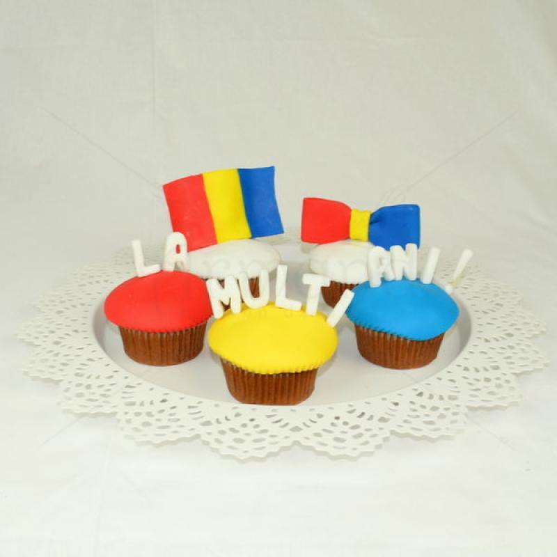 Cupcake-uri 1 Decembrie Ziua Romaniei