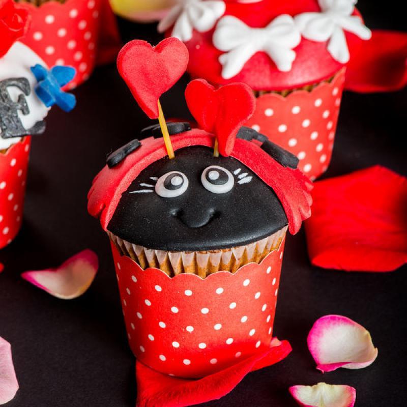 Cupcakes Gargarite indragostite