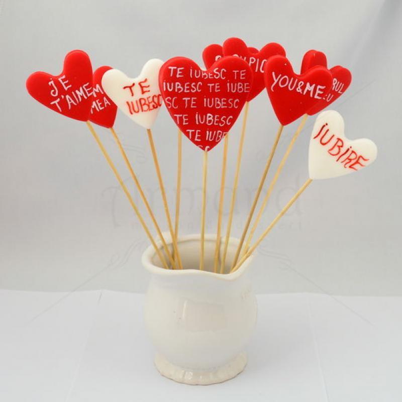 Acadele Inimioare cu mesaje Valentines Day