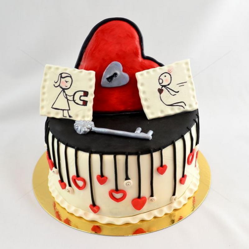 Tort Love Magnet