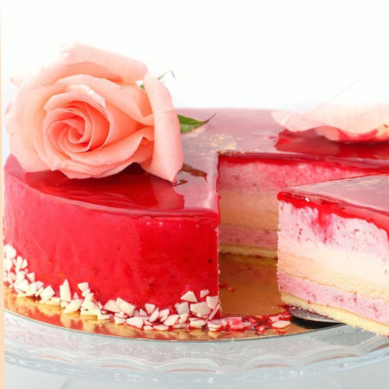 Tort Raspberry Rose