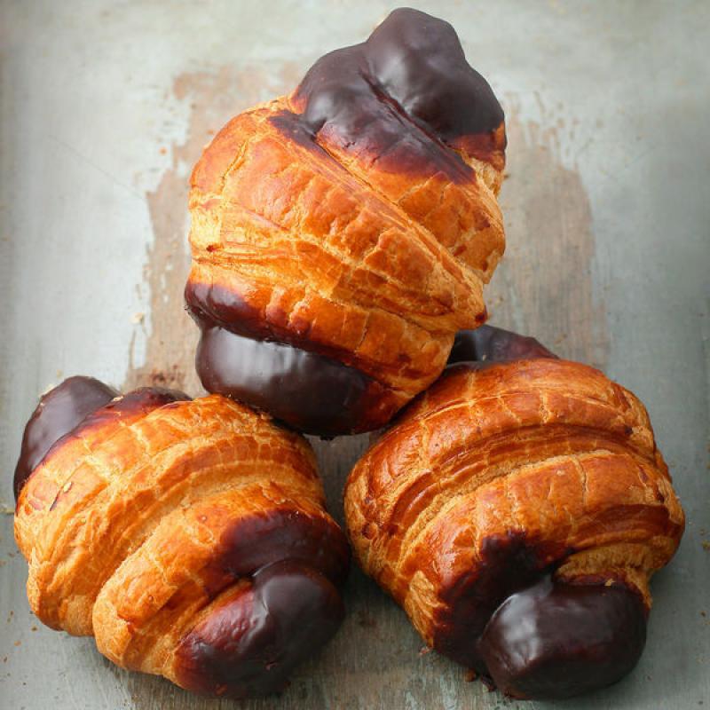 Mini Croissant cu ciocolata