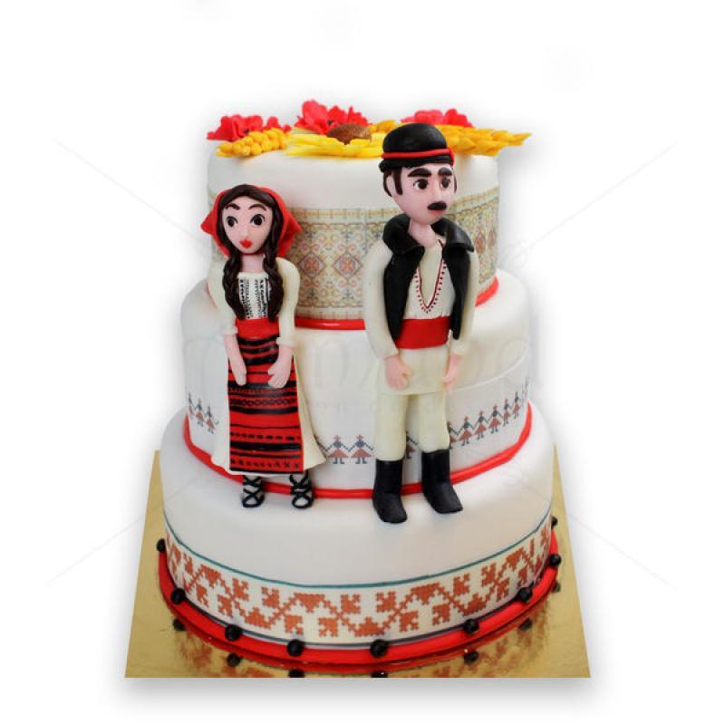 Tort de nunta Port popular