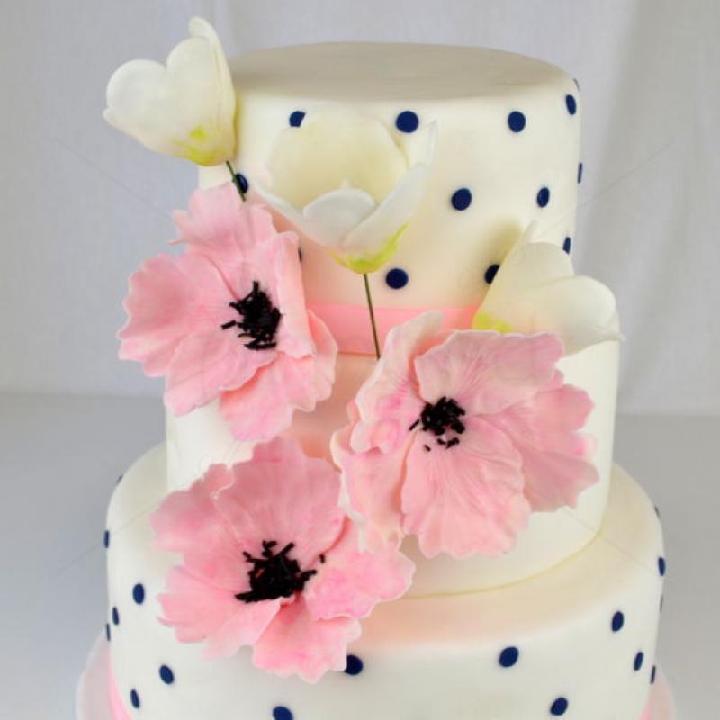 Tort aniversar Flori si buline