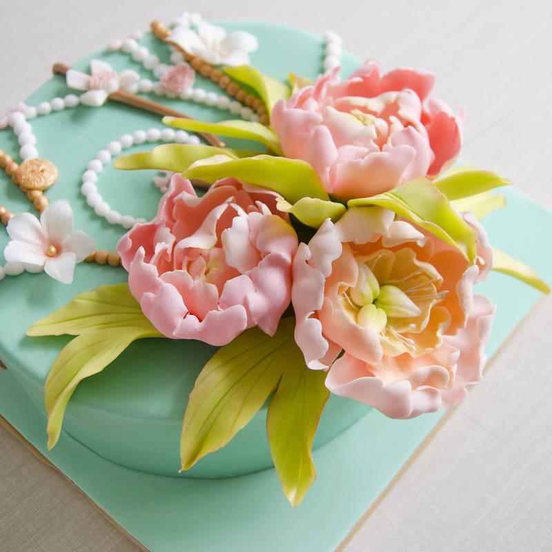 Tort Floral vintage