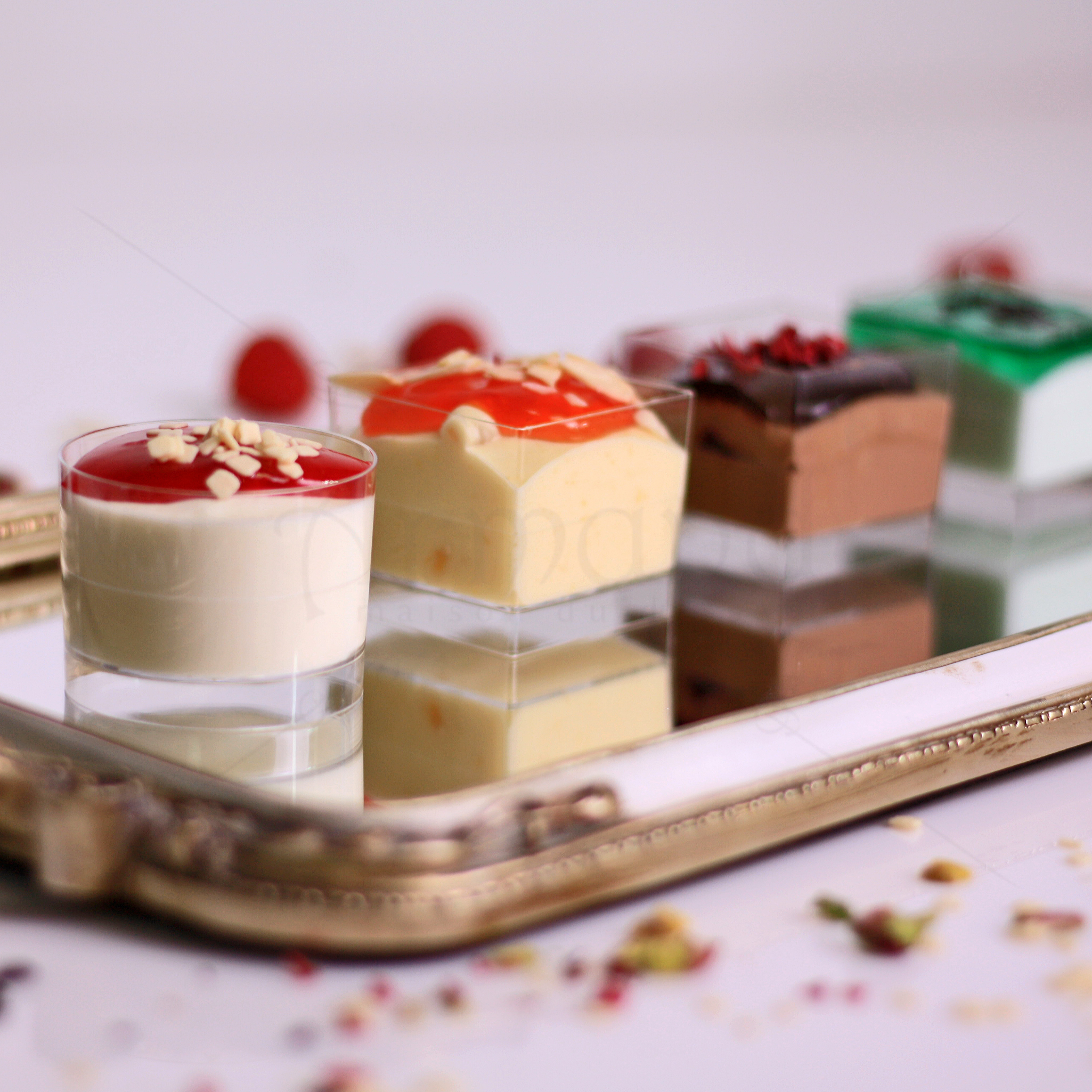 Pahare Mousse Candy Bar