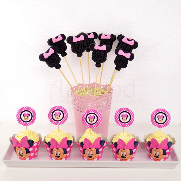 Cupcake Minnie Mouse Roz