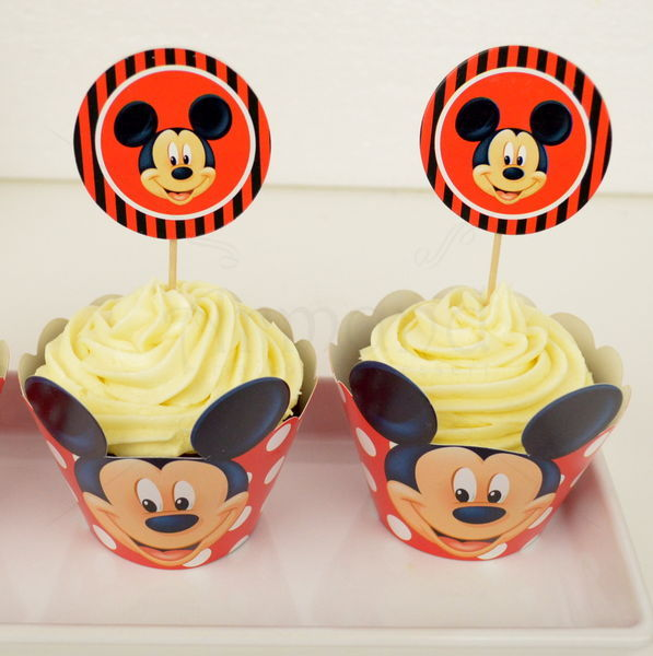 Cupcake Mickey Mouse 1