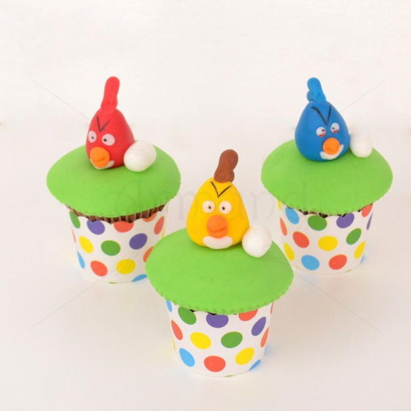 Cupcake Angry Birds