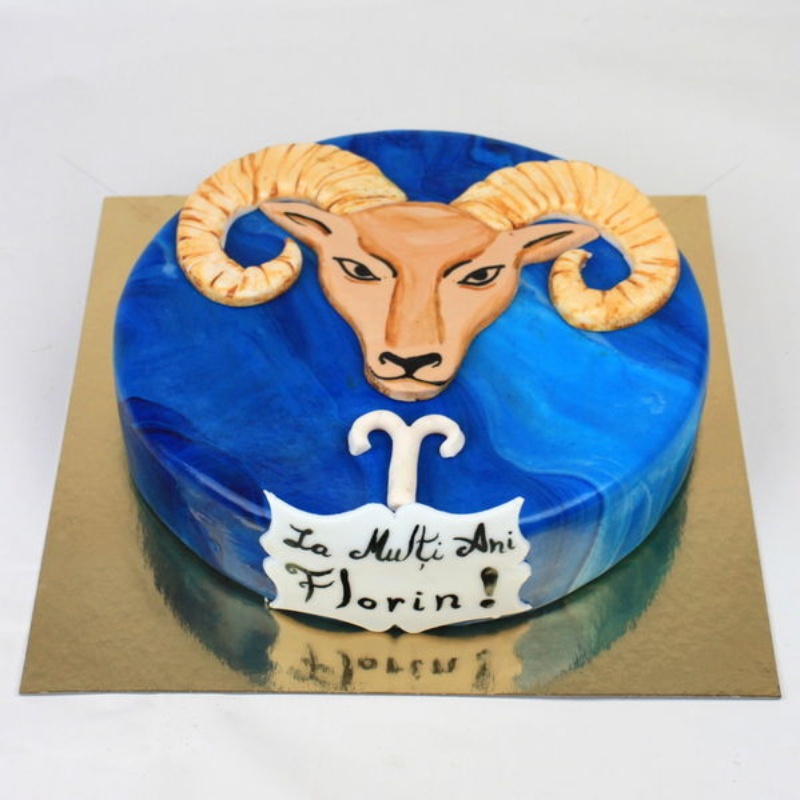 Tort Zodiac berbec