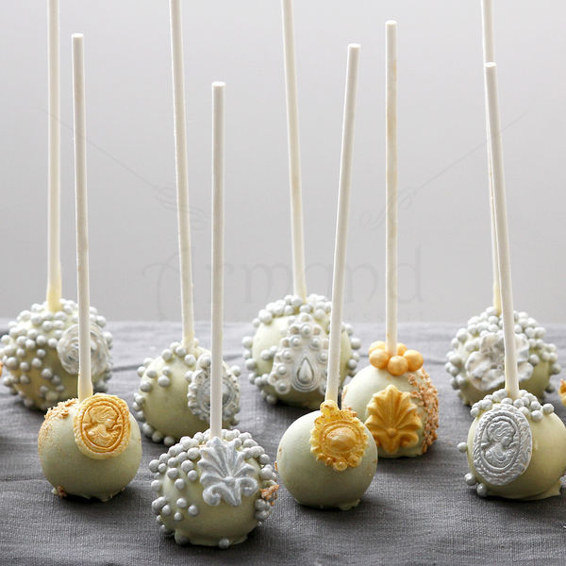 Cake Pops  Luxury Auriu