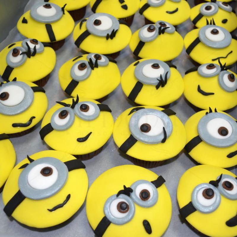 Cupcake-uri Minioni