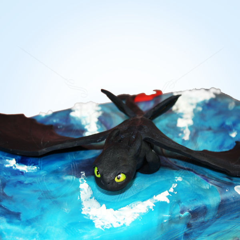 Tort Dragonul Toothles