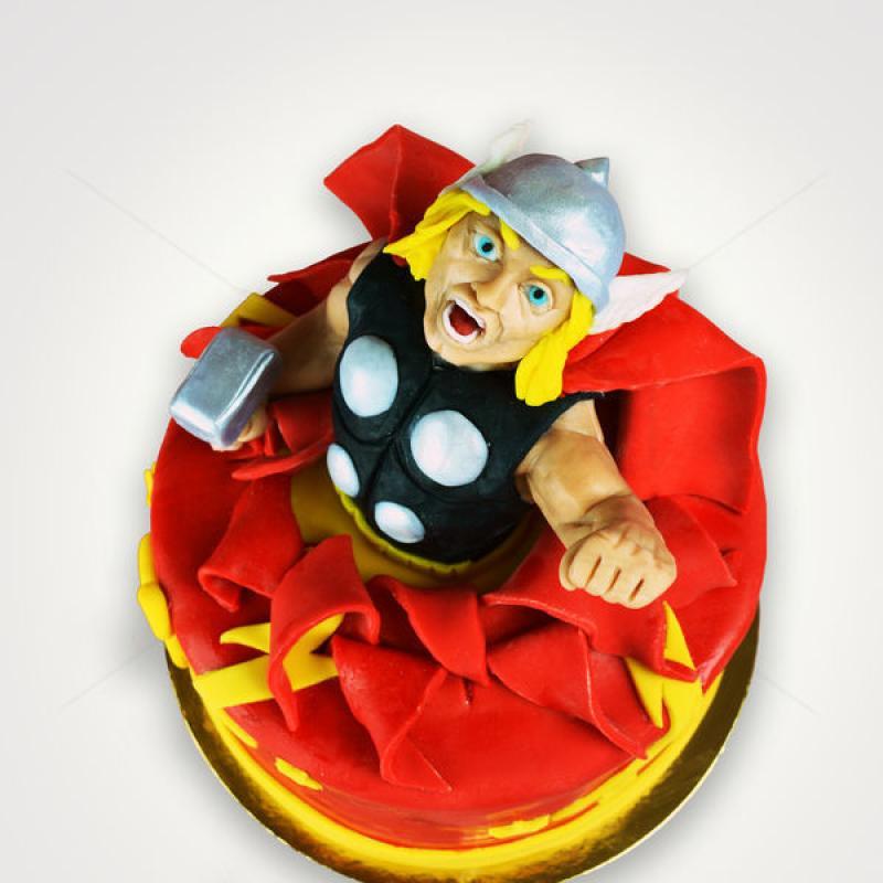 Tort Personaj Thor