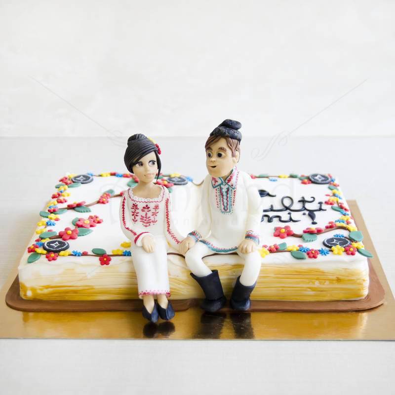 Tort nunta Carte motive populare