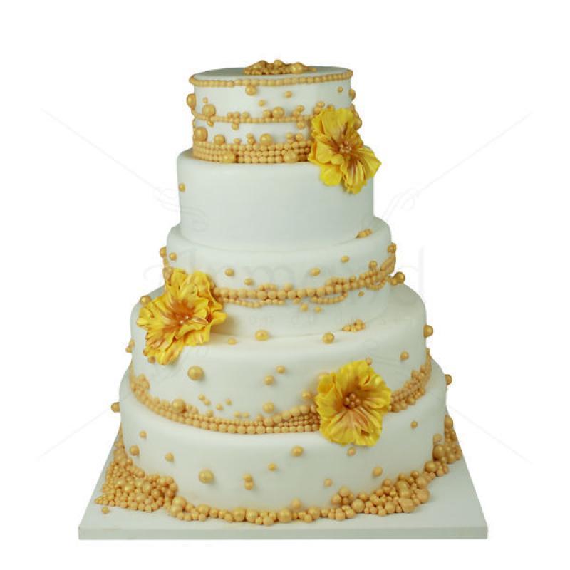 Tort nunta Perle aurii