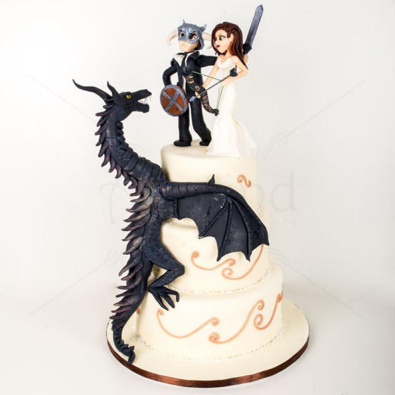 Tort nunta dragon