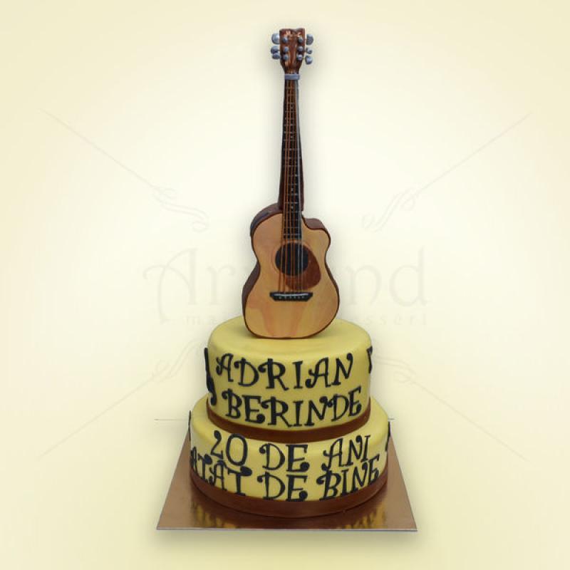 Tort chitara clasica