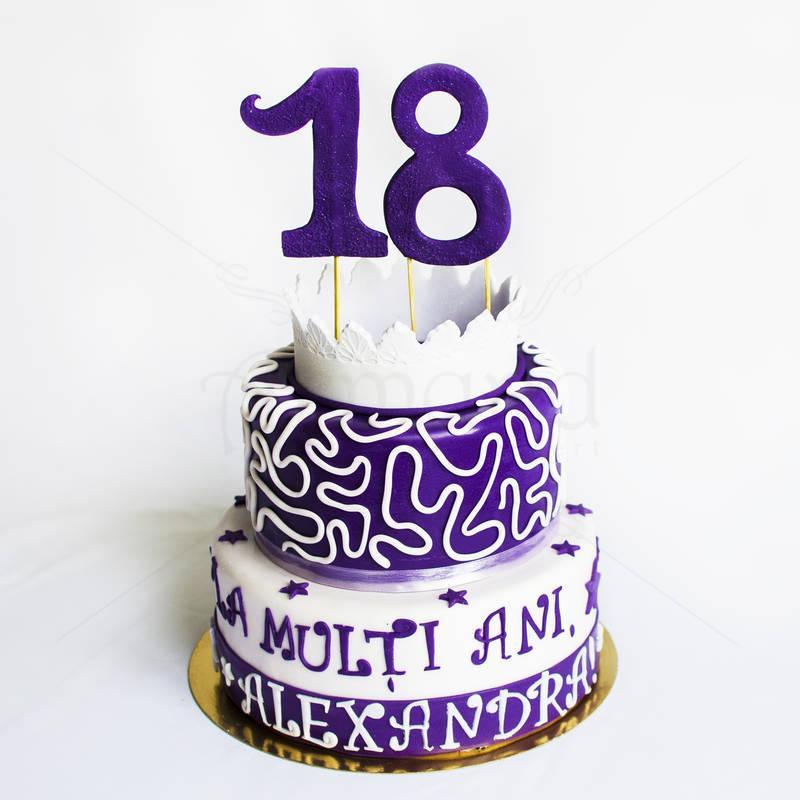 Tort violet majorat