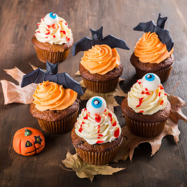 Colectie cupcakes scary Halloween