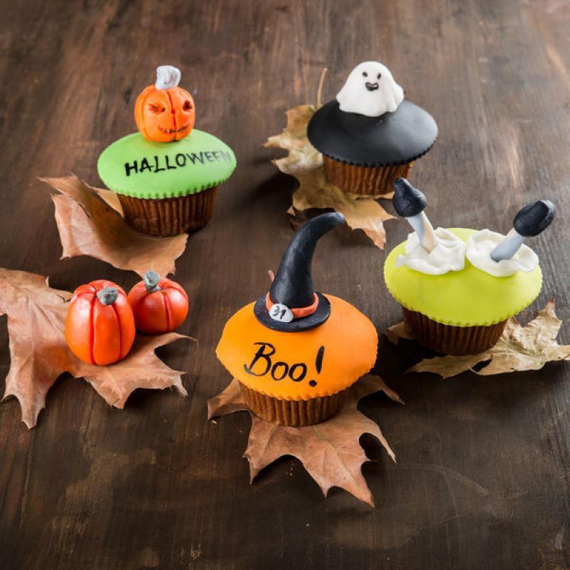 Colectie cupcakes Halloween
