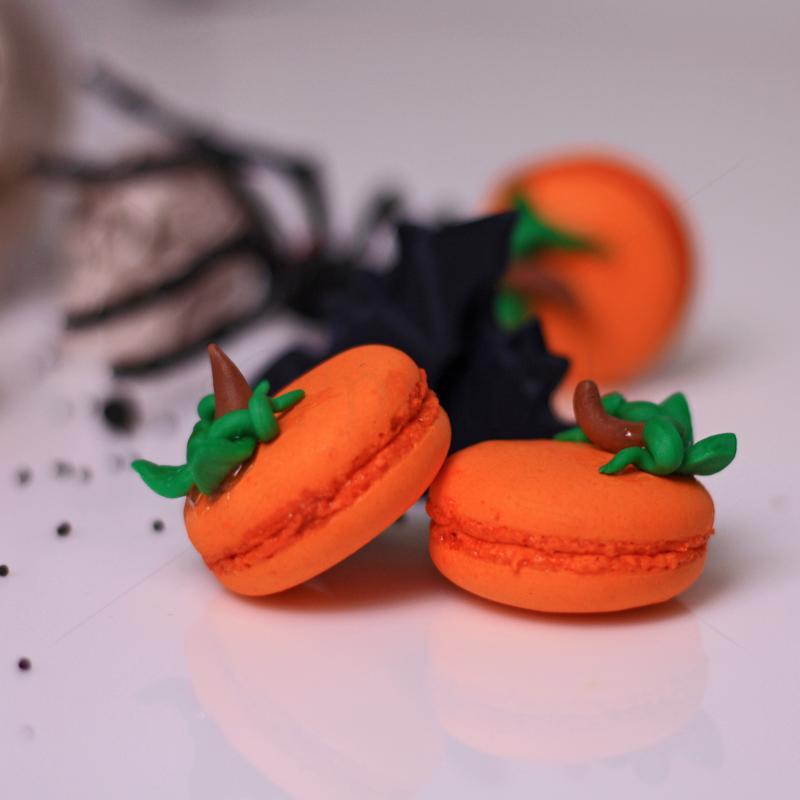 Macaron dovlecei Halloween