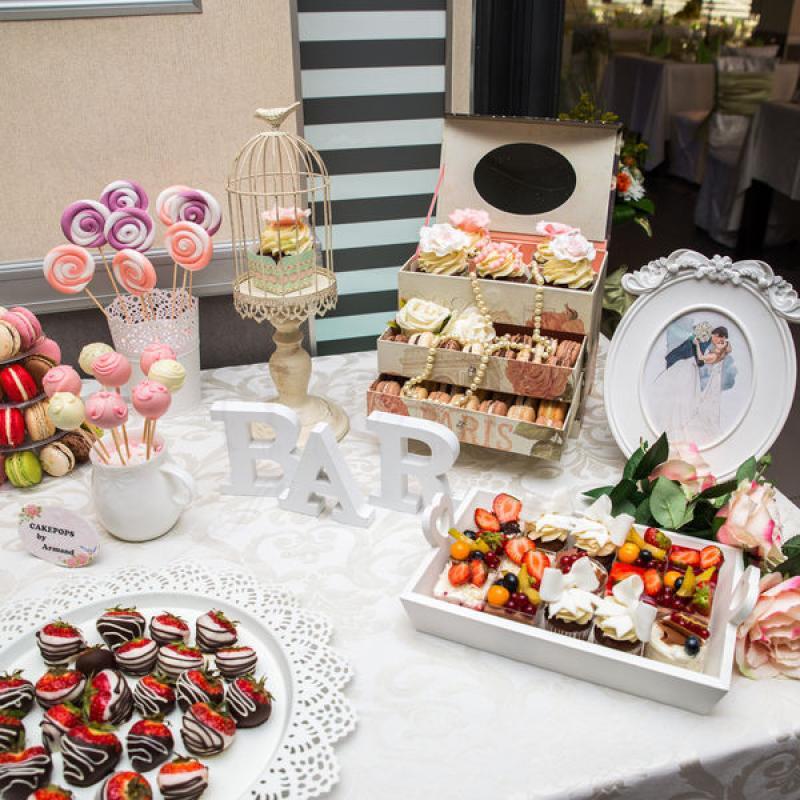 Candy bar elegant nunta