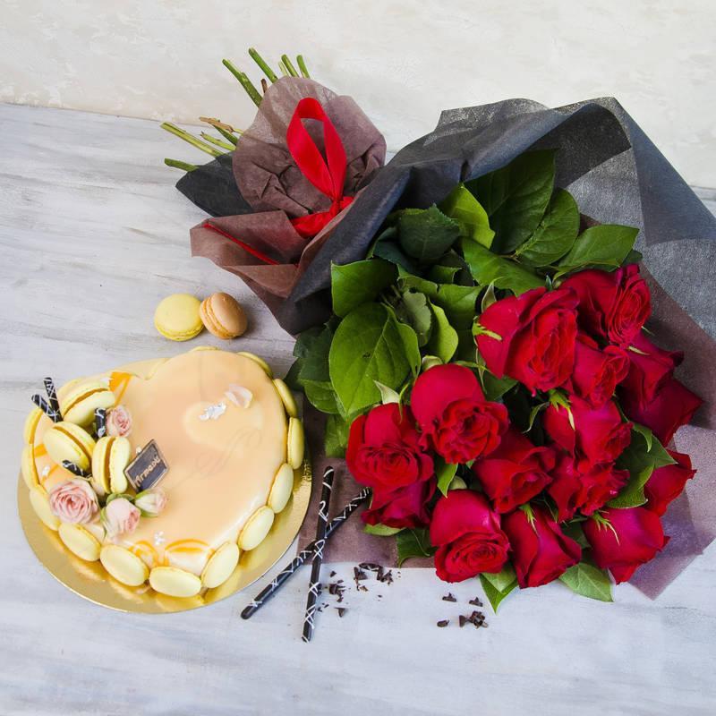 Pachet Cadou Passion Roses