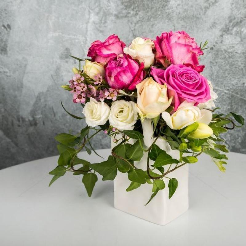 Aranjament floral Gentuta cu flori