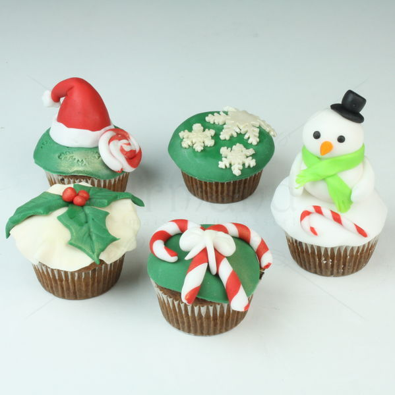 Colectia de cupcakes Craciun