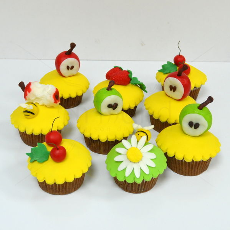 Cupcakes fructe