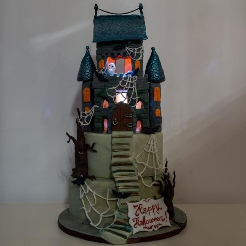 Tort Castel Halloween
