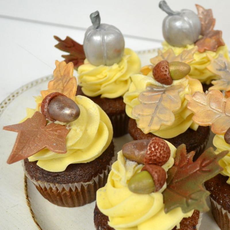 Cupcakes de toamna