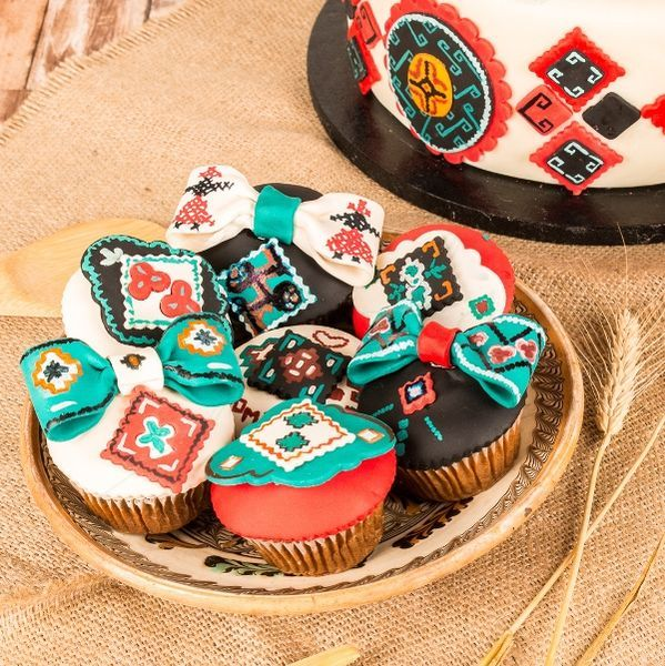 Cupcakes Motive traditionale