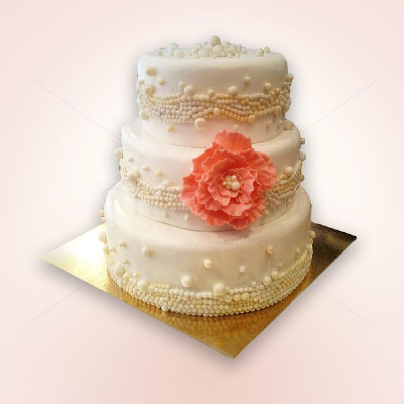 Tort de nunta Perle