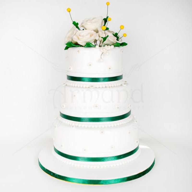 Tort nunta Verde smarald