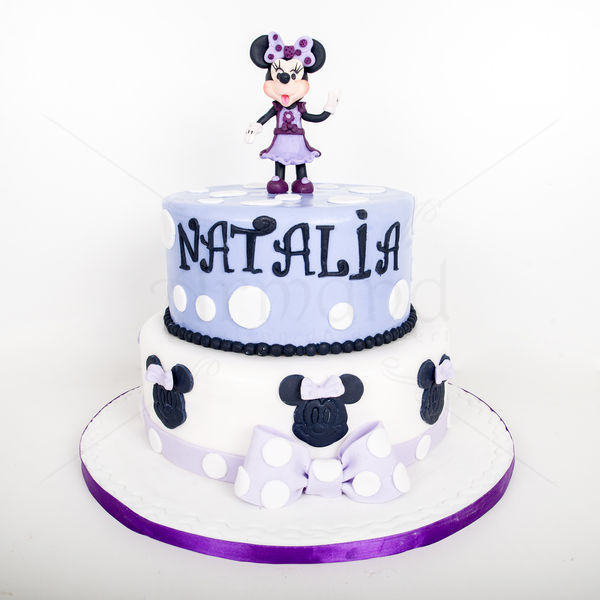 Tort Purple Minnie Mouse